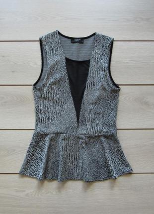 Акция на лето №113 шикарная блуза с выром от sisters point
