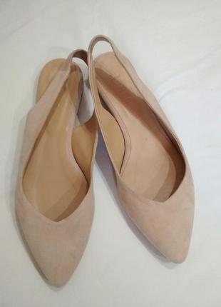 Полностью кожаные мюли ,туфли ,балетки !