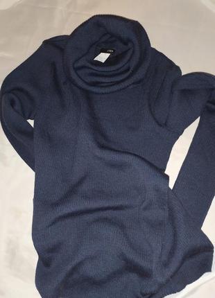J.crew свитер из мериносовой шерсти  с высоким воротником размер s