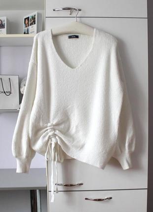 Стильный оверсайз свитер от dilvin knit