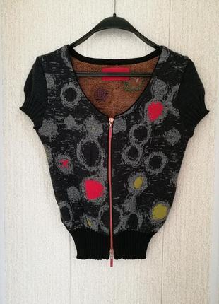 Дизайнерская шерстяная блуза eva & claudi