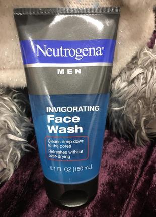 Гель для умывания neutrogena men