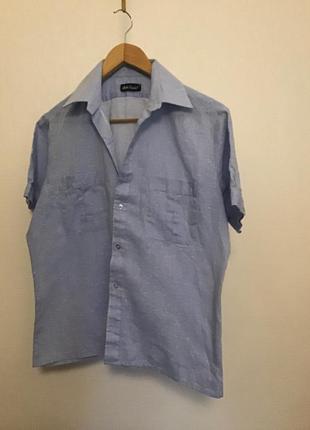 Базовая рубашка на коротком рукаве