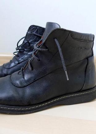 Hush puppies ботинки кожаные