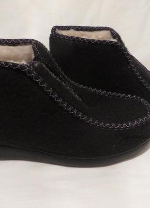 Ботинки бурки мех шерсть