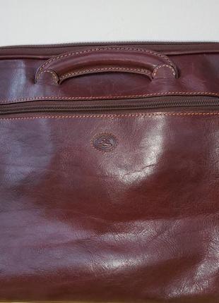 Универсальная сумка tony perotti, кожа (италия)