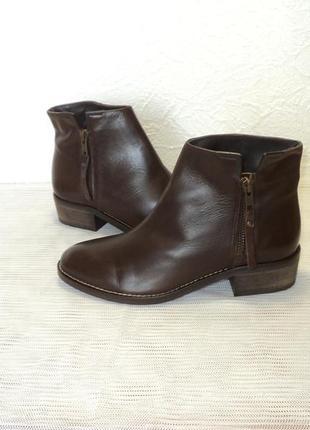 """Кожаные фирменные ботиночки от """"andre"""", р 36"""
