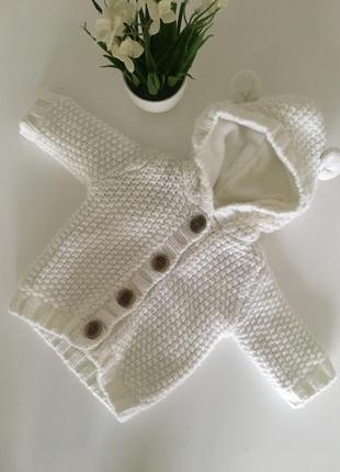 Вязаная кофта вязаный свитер george вязаная кофта белого цвета george
