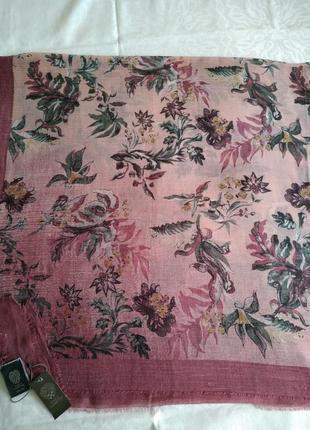 Брендовый платок шарф vince camuto, 140х140 см.