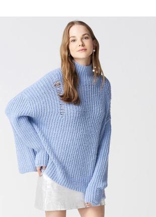 Голубой свитер dilvin