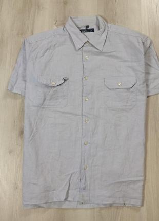Льняная шведка ben sherman мужская рубашка