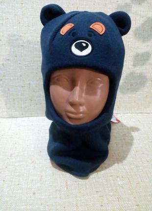 Шапка шлем для мальчика(расцветки)