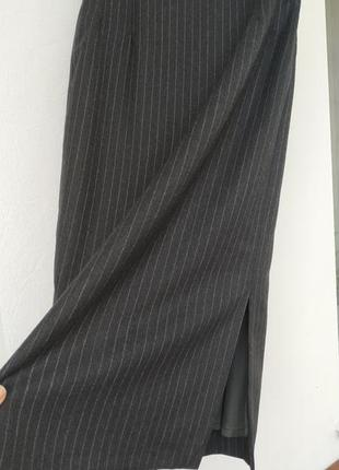 Юбка из шерсти с разрезом lanaby's