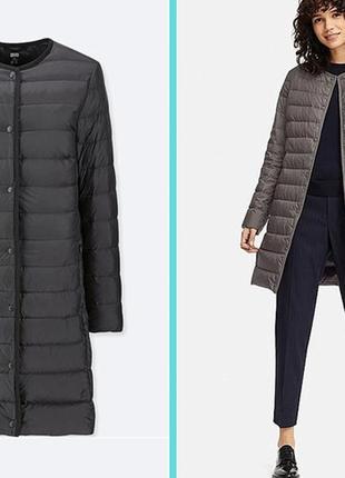 Ультралегкий и ультратеплый пуховик, куртка uniqlo, мультифункциональный