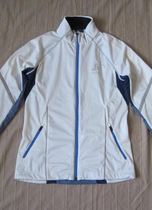 Odlo (s) спортивная беговая куртка виндстопер женская