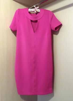 Шикарное платье с разрезом-молния ,размер с-м