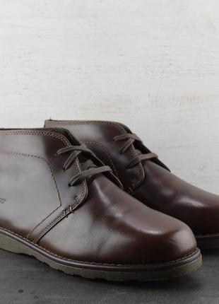 Ботинки sebago reese chukka. демисезон. размер 43.5
