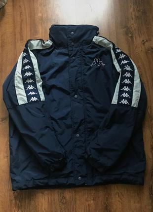 Куртка kappa с лампасами