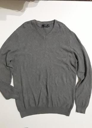 Фирменный пуловер кофта