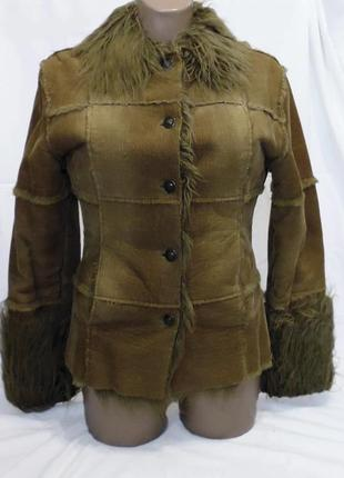 Тёплая вельветовая куртка miss posh.