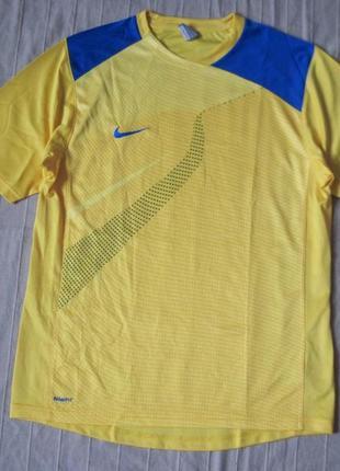 Nike dri-fit (m) спортивная футболка мужская