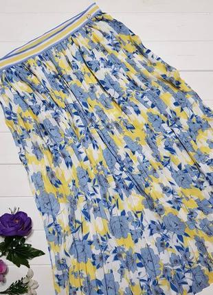 Плиссированная юбка размер с