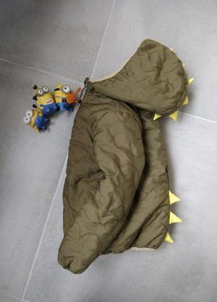 4-5л m&s демисезонная куртка динозавр