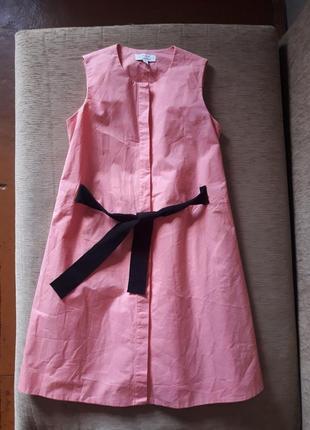 Удивительное платье рубашка на завязке