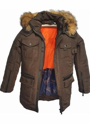 Зимняя теплая подростковая куртка. цвета, размеры в ассортименте.