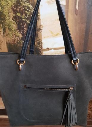 Стильная сумка-шоппер coccinelle