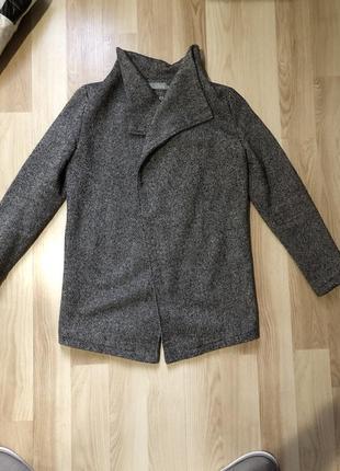 Пальто ткань «твид»