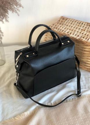 6 цветов! вместительная черная сумка на все случаи