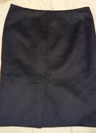 Шикарная юбка бренда max mara studio cucito a mano .оригинал. ангора,кашемир,virgin шерсть