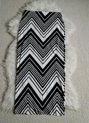 Вискозная трикотажная юбка макси  dorothy perkins