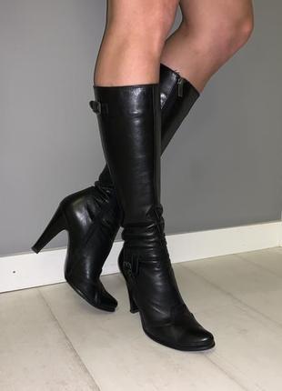 Сапоги женские кожаные marco rizzi