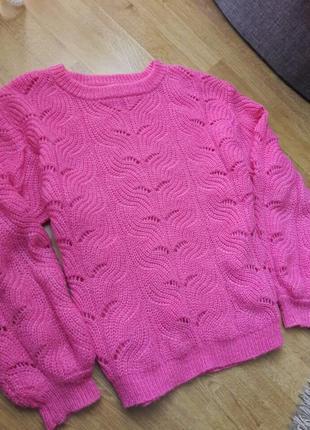 Объемный свитер,кофта saint tropez,zara,massimo,h&m.