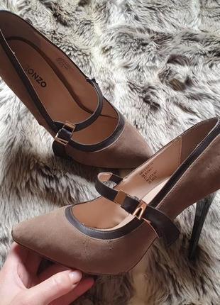 Туфли , лодочки , классические туфли , коричневые лодочки