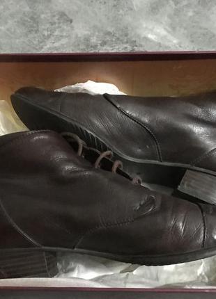 Кожаные ботинки chester