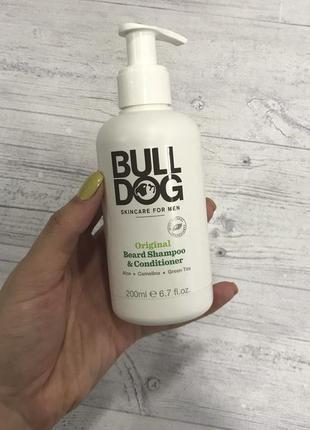 Шампунь+кондиціонер для борідки bulldog