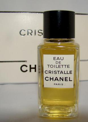 Туал. вода chanel cristalle edt 19 мл. оригинал. винтаж