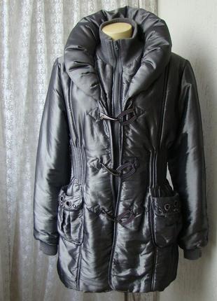 Пуховик куртка зимняя rosa rose р.52 7807а