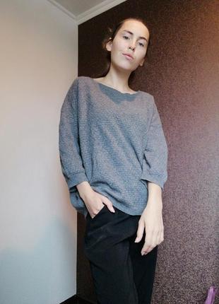 Кашемировый свитер кофта италия джемпер stile benetton cashmere blend