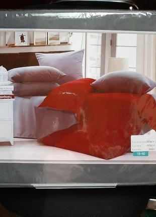 Новый полуторный постельный комплект,вишукана постільна білизна