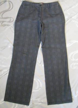 Nkd германия актуальные прямые брюки в клеточку