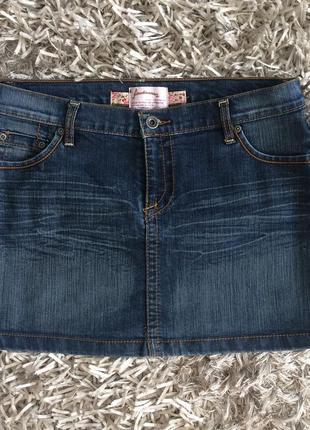 Юбка джинс #розвантажуюсь