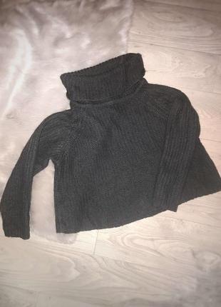 Стильный серый свитер calliope