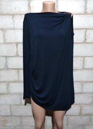 Дизайнерская блуза с одним рукавом 9/15 saks fifth avenue