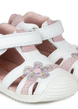 Детские босоножки сандали кожаные ортопедические biomecanics