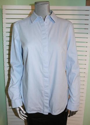 Голубая рубашка cos