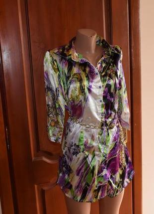Красивая новая блуза 44 р-р defile lux